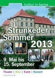 Strünkeder Sommer - Stadt Herne