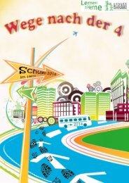 Broschüre Wege nach der 4 - Stadt Herne