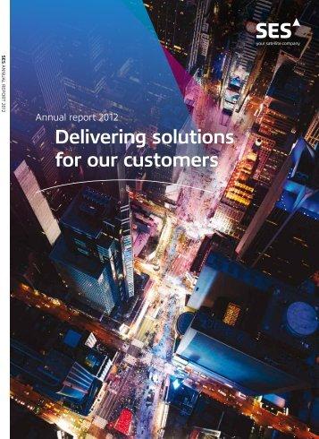 Annual Report 2012 - SES.com