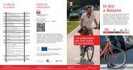 In bici a Bolzano - Comune di Bolzano