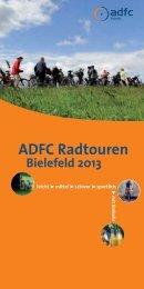 ADFC Radtouren Bielefeld 2013 - beim ADFC