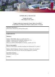 CR Développer le lien social 11-03-2010 - Hérouville Saint-Clair