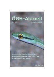 ÖGH-Aktuell, Nr. 10, November 2002 - Österreichische Gesellschaft ...