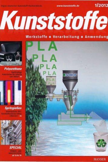 Kunststoffe Ausgabe 1/2012 - Herrmann Ultraschalltechnik
