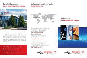 Flyer - Herrmann Ultraschalltechnik
