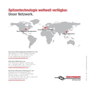 HiQ Broschüre - Herrmann Ultraschalltechnik
