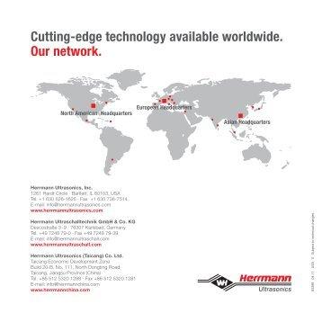 HiQ Brochure - Herrmann Ultraschalltechnik