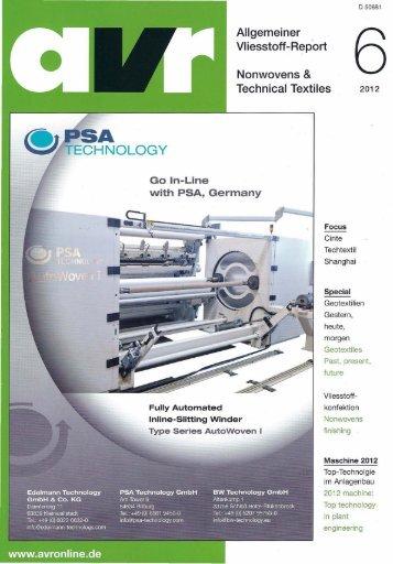 Nonwovens & Technical Textiles Allgemeiner Vliesstoff-Report