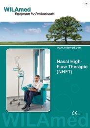Nasal High- Flow Therapie (NHFT) www.wilamed.com