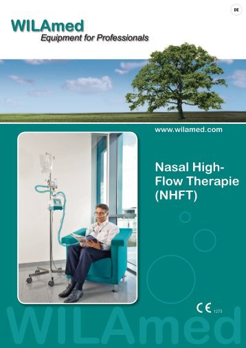 Nasal High- Flow Therapie (NHFT) www.wilamed.com