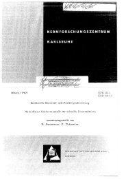 Oktober 1969 Institut für Matezial- und ... - Bibliothek