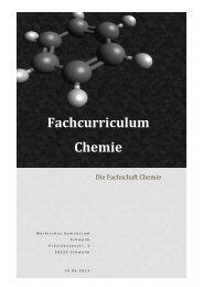 Fachcurriculum Chemie.pdf - Märkisches Gymnasium Schwelm