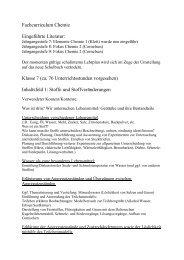 Chemie im Download - schule.erzbistum-koeln.de