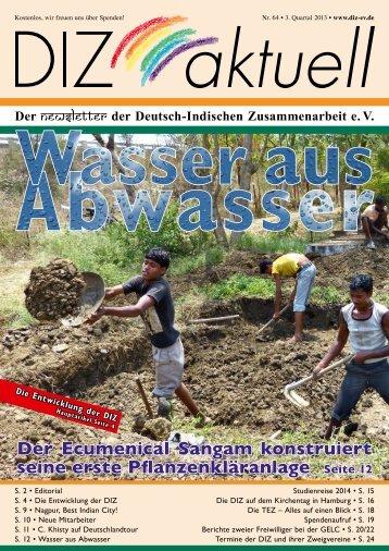 Newsletter 64 - Deutsch-Indische Zusammenarbeit e. V.