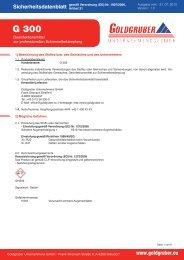 G 300 Desinfektionsmittel zur professionellen Schimmelbekämpfung ...