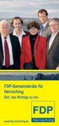FDP-Gemeinderäte für Herrsching