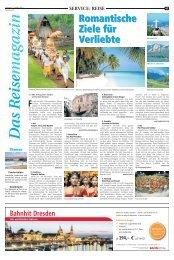 Das Reisemagazin: 23. März 2013 - Recklinghaeuser Zeitung