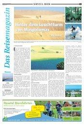 SVO: Das Reisemagazin 20. April 2013 - Recklinghaeuser Zeitung