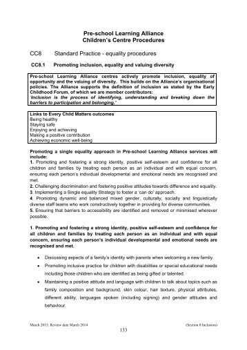 2 4 diversity equality and inclusion Equality, diversity and inclusion in the workplace guidance managers seeking to take advantage of positive action should contact the head of hr/head of people strategy in the first instance official document number: edip2 issue/approval date:11/01/2016 version number: final2.