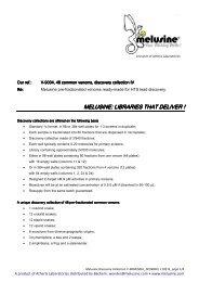 Melusine V-9004 Datasheet 110216 - Bachem