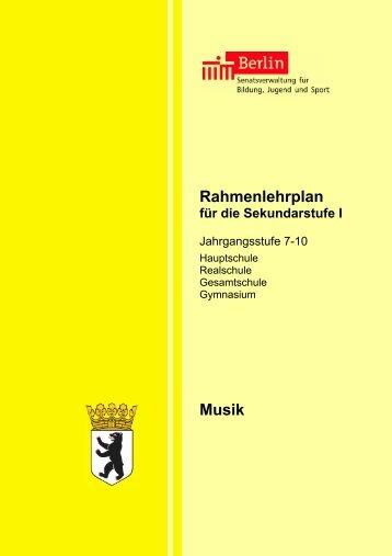 Rahmenplan Klasse 7–10 - Georg-Herwegh-Gymnasium