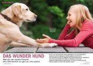 Ein Herz für Tiere Leseprobe - Das Wunder Hund