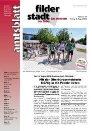 Amtsblatt KW 33.pdf - Stadt Filderstadt