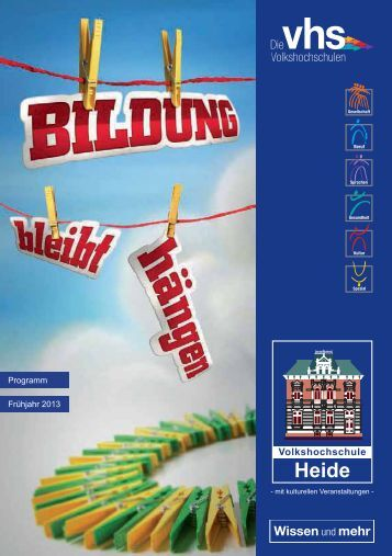 Programm Frühjahr 2013 - Heide