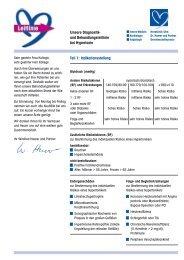 und Behandlungsleitlinie bei Hypertonie - Herzklinik Ulm