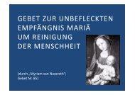Liebe Mutter Maria - Herzmariens.de