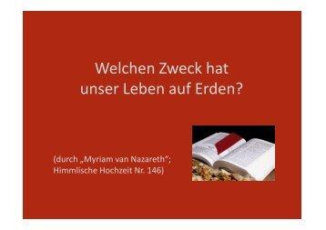 (Microsoft PowerPoint - 146 Welchen Zweck hat ... - Herzmariens.de