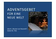 (Microsoft PowerPoint - 733 Adventsgebet f\374r ... - Herzmariens.de