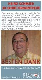Infos - HERZOG Küchen AG