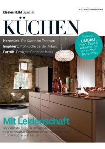 Mit Leidenschaft - HERZOG Küchen AG