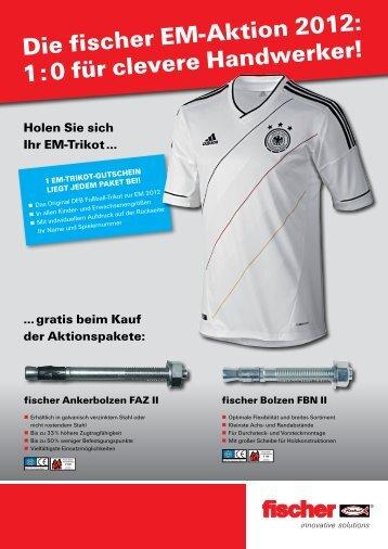 Die fischer EM-Aktion 2012 - herzog Stahlhandel GmbH in Calw
