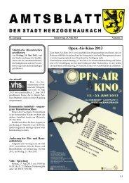 Amtsblatt 21 2013int.pdf - Stadt Herzogenaurach