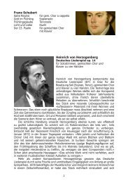 ausführliche Textheft von Dr. Bernd Wiechert zur Aufführung