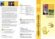 Faltblatt zum Herunterladen - Kinderhilfe Oberland