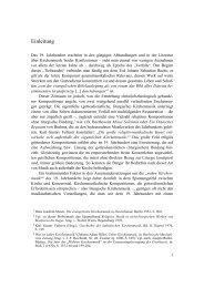 Einleitung (PDF) - Heinrich von Herzogenberg, Komponist