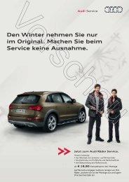 Den Winter nehmen Sie nur im Original. Machen ... - Autohaus Kahle