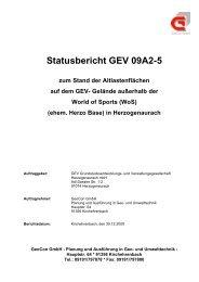 Statusbericht Altlasten - Teil 1 - Stadt Herzogenaurach