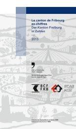 Le canton de Fribourg en chiffres - Edition 2013 - BCF