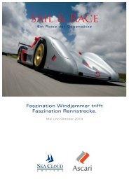 SAIL & RACE - Ein Reise der Gegensätze - Sektion beider Basel