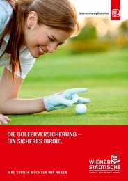 Versicherung für Golfer