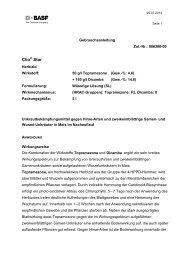 GA Clio Star - BASF Pflanzenschutz Deutschland
