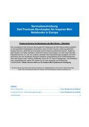Premium Service für Minis - Dell