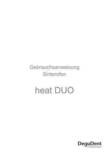 Sinterofen heat DUO - DeguDent GmbH