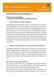 Entschließung (1) Personal - Bayerische Finanzgewerkschaft