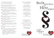 Rechtsprechen - Deutsche Herzstiftung eV