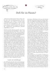 Defi für zu Hause? - Deutsche Herzstiftung eV